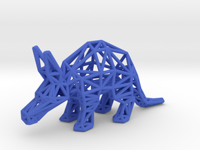 Aardvark (Young) in Blue Processed Versatile Plastic