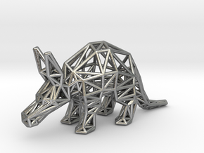 Aardvark (Young) in Natural Silver
