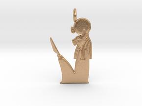 Ra-Mau amulet in Natural Bronze