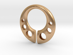 Fae Pendant in Natural Bronze: Large