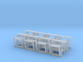 Trestle 01. 1:24  Scale in Smooth Fine Detail Plastic