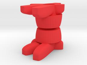 Membros Slime Sneakers in Red Processed Versatile Plastic