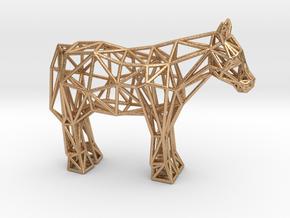 Shetland Pony in Natural Bronze