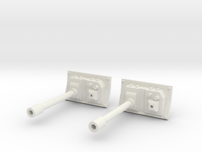 IFV 37mm Cannons (2) in White Natural Versatile Plastic