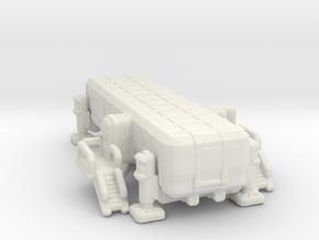 Observation Pod 285 scale in White Natural Versatile Plastic