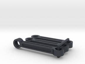 Tamiya TA02 F150 Prerunner steering links, TA02T in Black Professional Plastic