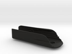 Leatherman Surge Holster, Metal Clip in Black Natural Versatile Plastic: Medium
