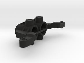 Tamiya Thundershot F1 F2 F-parts Steering Knuckles in Black Natural Versatile Plastic