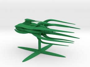 Vorlon Empire - Dreadnought (5.85 x / 4.77 y / 2. in Green Processed Versatile Plastic