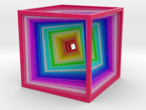 Cube Wire Rotate in Natural Full Color Sandstone