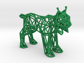 Spanish Lynx (adult) in Green Processed Versatile Plastic