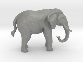 O Scale African Elephant in Gray PA12