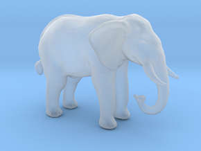 N Scale African Elephant in Smooth Fine Detail Plastic
