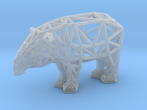 Baird's Tapir (adult male) in Smooth Fine Detail Plastic