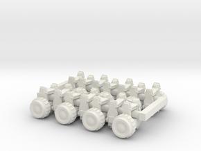 1/24 Flashlights Set02-03 in White Natural Versatile Plastic