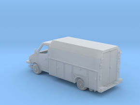 MOW Service Van Box Bed 1-87 HO Scale  in Smooth Fine Detail Plastic