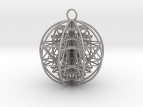 "3D Sri Yantra 9 Sided Optimal 2.2"" in Aluminum"