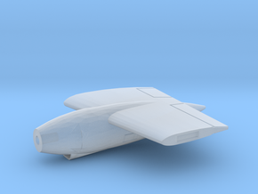 AJ-Savage-72scale-02-Wing-Engine-Left in Smooth Fine Detail Plastic