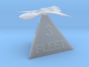 Xindi Fleet 3 in Smooth Fine Detail Plastic