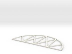 Knapford Roof Kit Internal Frame in White Natural Versatile Plastic