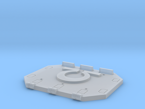 Ultra Marines Jericho Tank rear door in Smooth Fine Detail Plastic