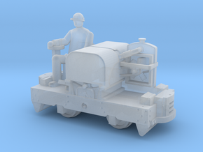 N scale Simplex with driver in Smooth Fine Detail Plastic