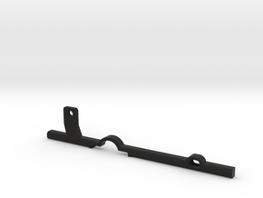 ThumbRail -fits Fender Precision in Black Natural Versatile Plastic