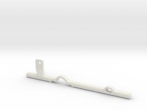 ThumbRail -fits Fender Precision in White Premium Versatile Plastic