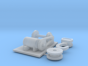 Taylor Jumbo Crane Winch in Smooth Fine Detail Plastic