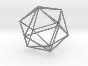 Isohedron small in Gray Professional Plastic