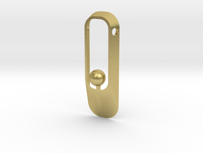 Purity NEW (sphere version) in Natural Brass
