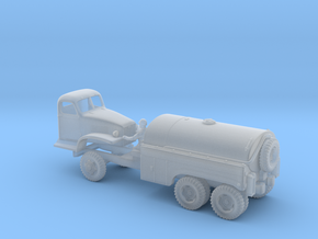 AIRFIELD FUEL TRUCK - GMC 6x6 - (1/87 H0) in Smooth Fine Detail Plastic