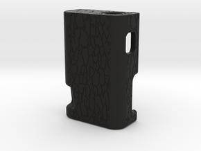 STRSS3D Mech Squonk Mod  in Black Natural Versatile Plastic