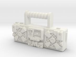 "Titans Return Blaster, 4"" and 6"" figure scales. in White Natural Versatile Plastic: Small"