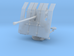 1/50 DKM 3.7cm Flak M42 Single Mount in Smooth Fine Detail Plastic