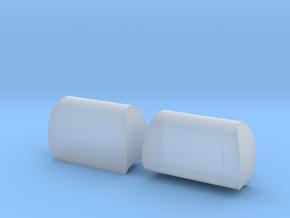 VS4-10 Modern HeadRest in Smooth Fine Detail Plastic