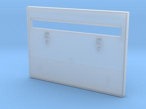 VideoBrain cartridge shell bottom in Smooth Fine Detail Plastic