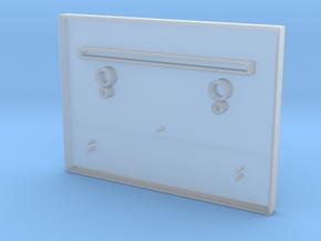 VideoBrain cartridge shell top half in Smooth Fine Detail Plastic