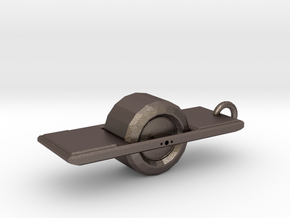 Onewheel + in Polished Bronzed-Silver Steel
