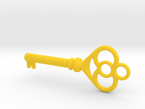 Cupboard Key (Indian in the Cupboard, 1995) in Yellow Processed Versatile Plastic