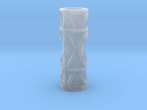Candle holder in Smooth Fine Detail Plastic