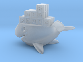 whale ship in Smooth Fine Detail Plastic