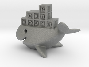 whale ship in Gray Professional Plastic