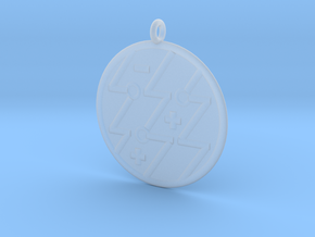 Physics Symbol in Smoothest Fine Detail Plastic