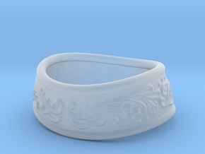 Paladin bracelet in Smooth Fine Detail Plastic: Extra Small