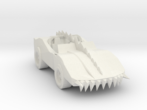 Deathrace 2000 The Monster 160 scale in White Natural Versatile Plastic