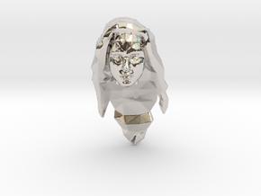 Wonder Woman Head in Platinum