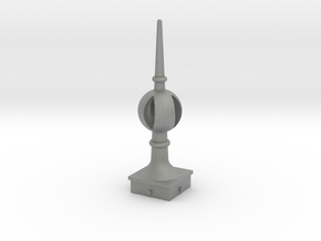 Signal Finial (Open Ball) 1:6 scale in Gray PA12