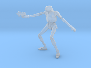 KX-4 Security Droid .  in Smoothest Fine Detail Plastic