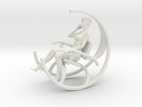 Printle V Femme 800 - 1/32 - wob in White Natural Versatile Plastic